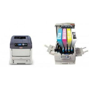 Laser Printer With White Toner