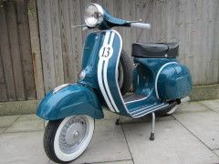 Restored Scooter