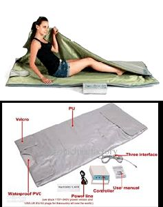 Detoxifying slimming blanket
