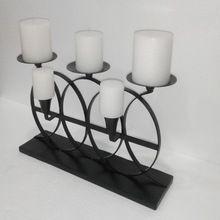 Wrought Iron Candle Holder