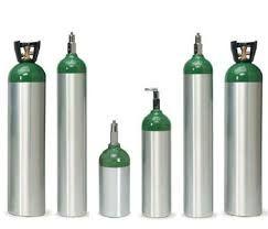 Aluminium Medical Gas Cylinder