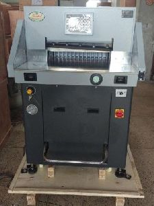 H490p Double Hydraulic Paper Cutting Machine