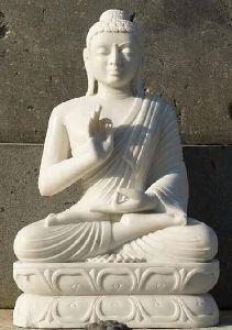 Mahatma Sandstone Buddha Statue