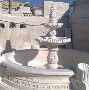 sand stone faoutan water lamp garden work