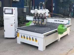 Cnc Router 1325 With Multiple Head