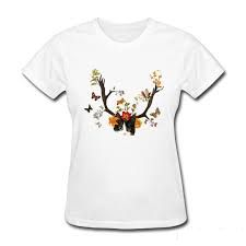 Womens Printed T Shirts