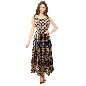 Fancy Jaipuri Cotton Printed Kurti