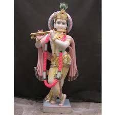 Krishna Ji Marble Statue