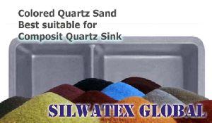 Colored Silica Quartz Sand