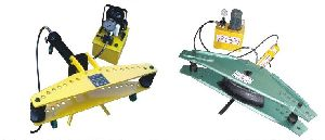 Motorised Hydraulic Pipe Bending Machine With Hinged Frame