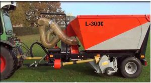Tractor Mounted Vacuum Leaf Collector