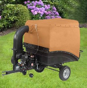 Tractor Towed Vacuum Leaf Collector