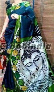 Pure Bishnupuri And Murshidabad Silk Sarees
