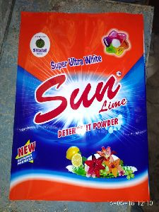 Sun Lime Detergent Powder