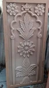 Teak Stone Carving