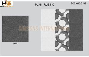 Plain Rustic Glazed Vitrified Tiles