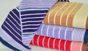 Striped Jacquard Towels