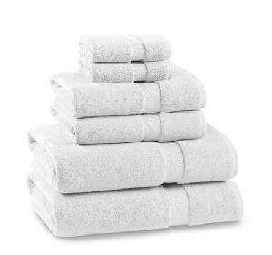 White Cotton Towels