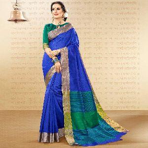 Designer Handloom Cotton Silk Saree