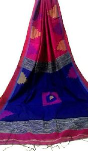 Stylish Handloom Cotton Silk Saree