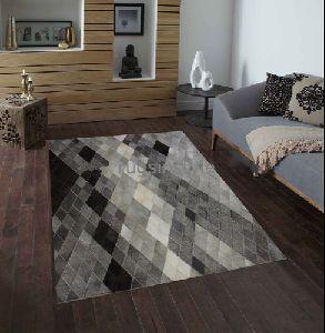 Handmade Designer Leather Carpets