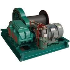 Electric Winch Machine - Manufacturers, Suppliers & Exporters in India