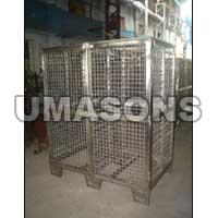 Stainless Steel Cage Trolley