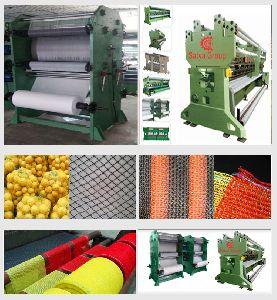 """Shade Net Making Machine """"plastic Nets Making Machine"""""""
