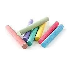 colour chalk