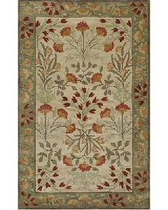 Rugsville Hand Tufted Wool Rug 9'x12'