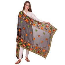 Embroidery Dupatta