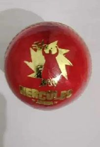 10 -15 Over Red Leather Cricket Ball