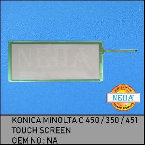Konica Minolta C 450 / 350 / 451 Touch Screen