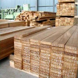 Raw Teak Wood