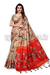 Party Wear Silk Saree