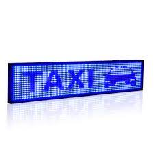 Blue LED Display Board