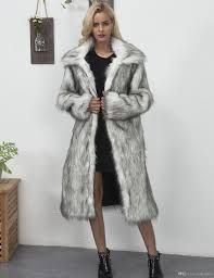 Lady Fur Coat