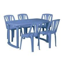 Plastic Dining Table
