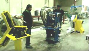 Rolling Shutter Slats Perforated Machine Repair & Services