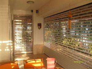 transparent rolling shutter