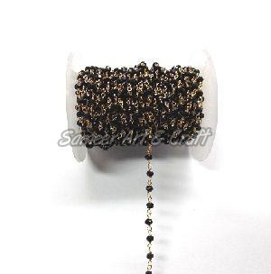 Black Onyx Rosary Chain