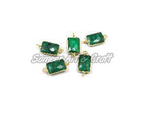 Emerald Bezel Connector