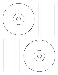 CD Label Sticker Paper