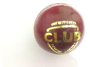 Club Leather Cricket Ball
