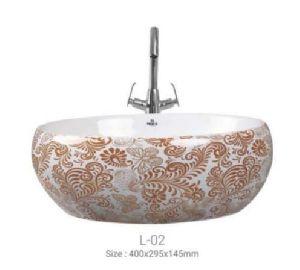 L-02 Designer Table Top Wash Basin