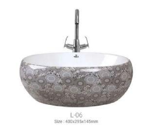 L-06 Designer Table Top Wash Basin
