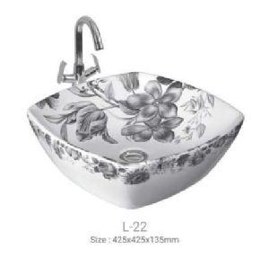 L-22 Designer Table Top Wash Basin