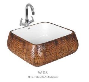 W-05 Designer Table Top Wash Basin