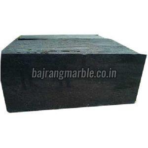 Plain Black Granite Slabs