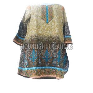 Ladies Cotton Short Kurti
